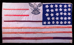 Hand made American flag